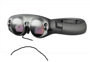 Palmer Luckey's take on the ML1. (C) Palmer Luckey / Magic Leap